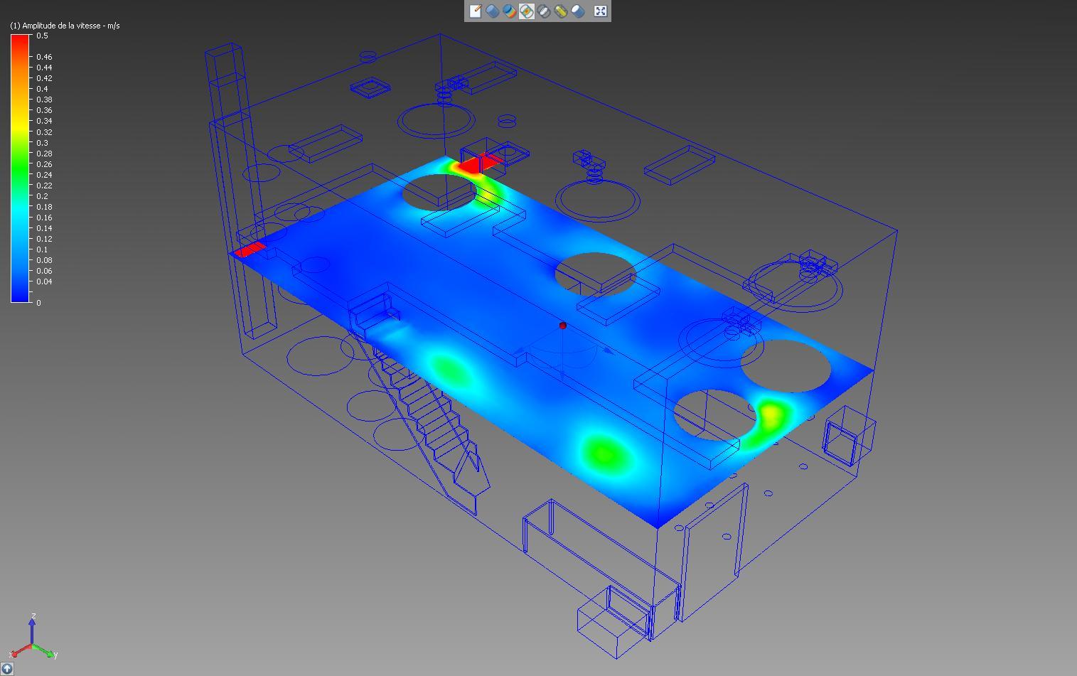 Modélisation Autodesk Simulation CFD